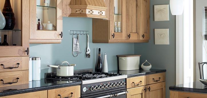 Hand Made Kitchens Dakota Rustic Style Kitchen Range Wigan Bolton ...