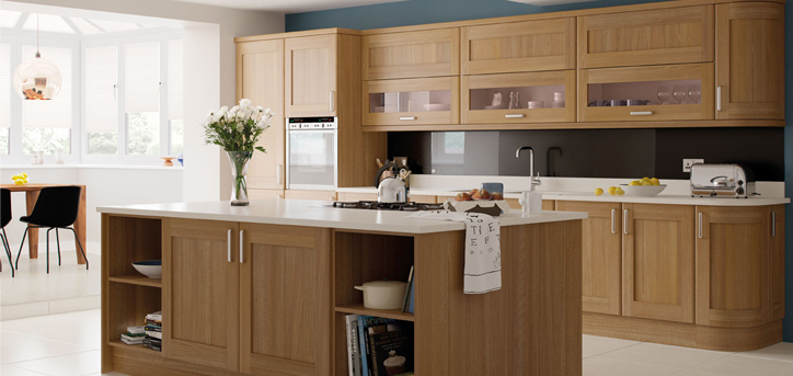 kitchen fitted ohio light walnut classic style kitchen collection